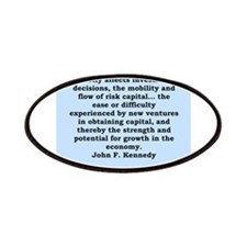 john f kennedy quote Patches