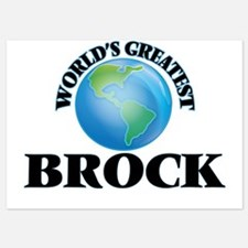 World's Greatest Brock Invitations
