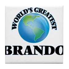 World's Greatest Brando Tile Coaster