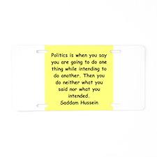 4.png Aluminum License Plate