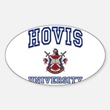 HOVIS University Oval Decal