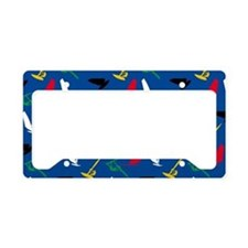 Windsurfing License Plate Holder