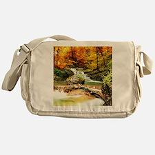 Autumn Stream Messenger Bag