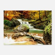 Autumn Stream 5'x7'Area Rug