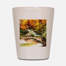 Autumn Stream Shot Glass