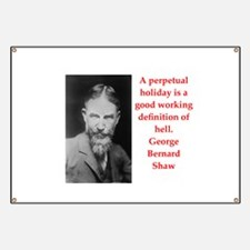 george bernard shaw quote Banner