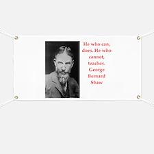george bernard shaw quote Banner