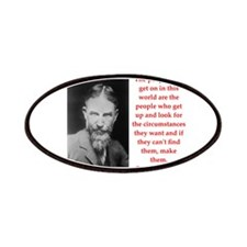 george bernard shaw quote Patches