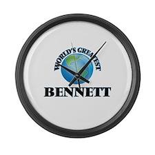 World's Greatest Bennett Large Wall Clock