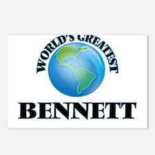 World's Greatest Bennett Postcards (Package of 8)