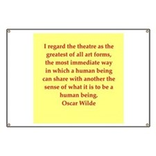 oscar wilde quote Banner