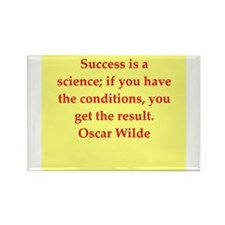 oscar wilde quote Rectangle Magnet (10 pack)