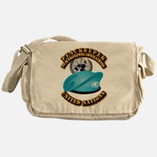 UN - UN Beret - Peacekeeper Messenger Bag