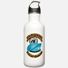 UN - UN Beret - Peacek Water Bottle