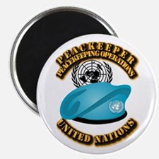 UN - UN Beret - Peacekeeper Magnet
