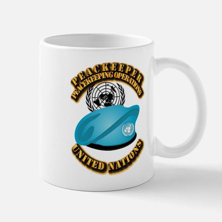 UN - UN Beret - Peacekeeper Mug