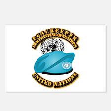 UN - UN Beret - Peacekeep Postcards (Package of 8)