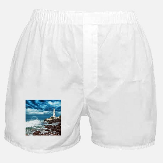 Lighthouse Boxer Shorts