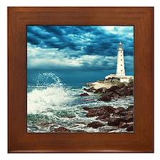 Lighthouse Framed Tile
