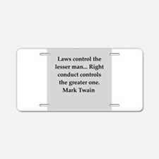 109.png Aluminum License Plate