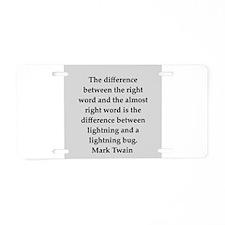 149.png Aluminum License Plate