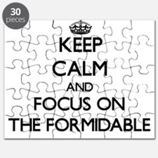 Keep Calm by focusing on The Formidable Puzzle