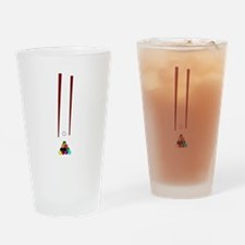Pool Cues Drinking Glass