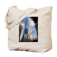 Cute World trade center and Tote Bag