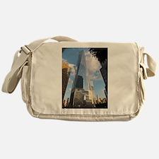 Cute World trade center Messenger Bag