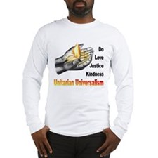 Do_Love_Justice_Kindness Long Sleeve T-Shirt