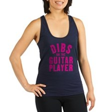 DIBS on the Guitar PLayer Racerback Tank Top