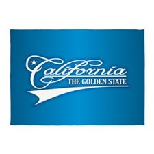 California State of Mine 5'x7'Area Rug