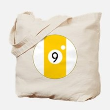 Nine Ball Tote Bag