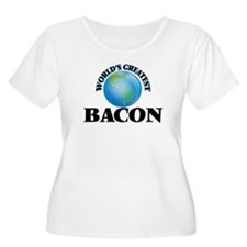 World's Greatest Bacon Plus Size T-Shirt