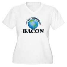 World's Greatest Bacon Plus Size T-Shirt