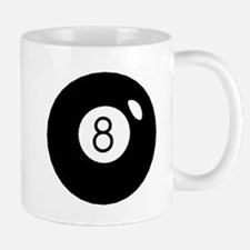 Black Eight Ball Mugs