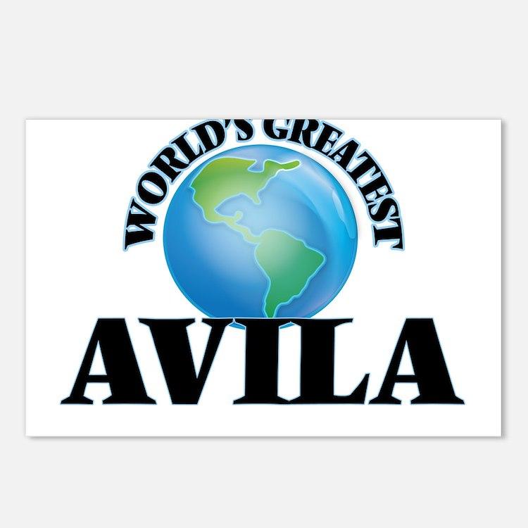 World's Greatest Avila Postcards (Package of 8)