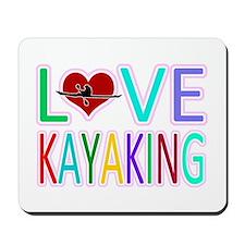 Love Kayaking Mousepad
