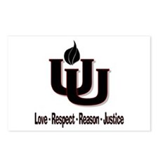 UU_Love_Respect Postcards (Package of 8)