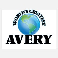 World's Greatest Avery Invitations