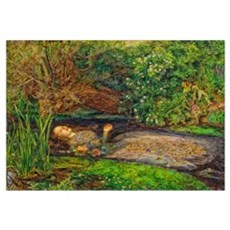 Millais: Drowning Ophelia Wall Art Poster