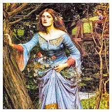 Waterhouse: Ophelia Wall Art Poster