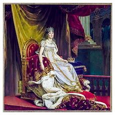 Gerard - Empress Josephine Wall Art Poster