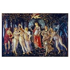 Botticelli: La Primavera Wall Art Poster