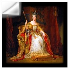 Queen Victoria Wall Art Wall Decal