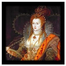 Queen Elizabeth I Wall Art Framed Print