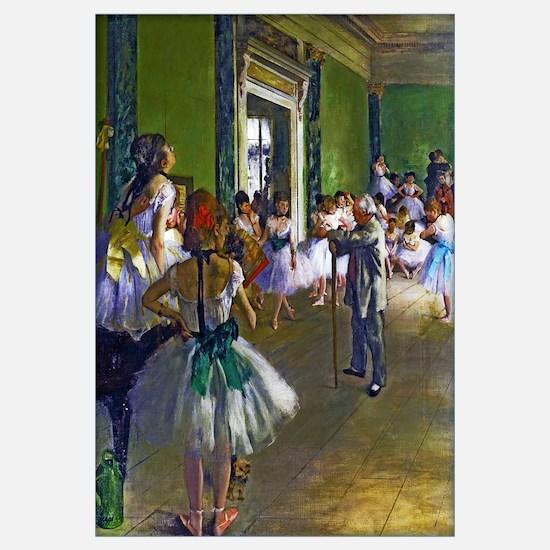 Degas - The Ballet Class Wall Art