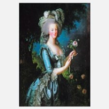 Marie Antoinette with Rose Wall Art