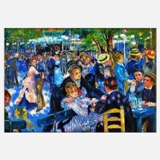 Renoir: Dance At Le Moulin De La Galette Wall Art
