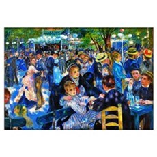 Renoir: Dance At Le Moulin De La Galette Wall Art Framed Print